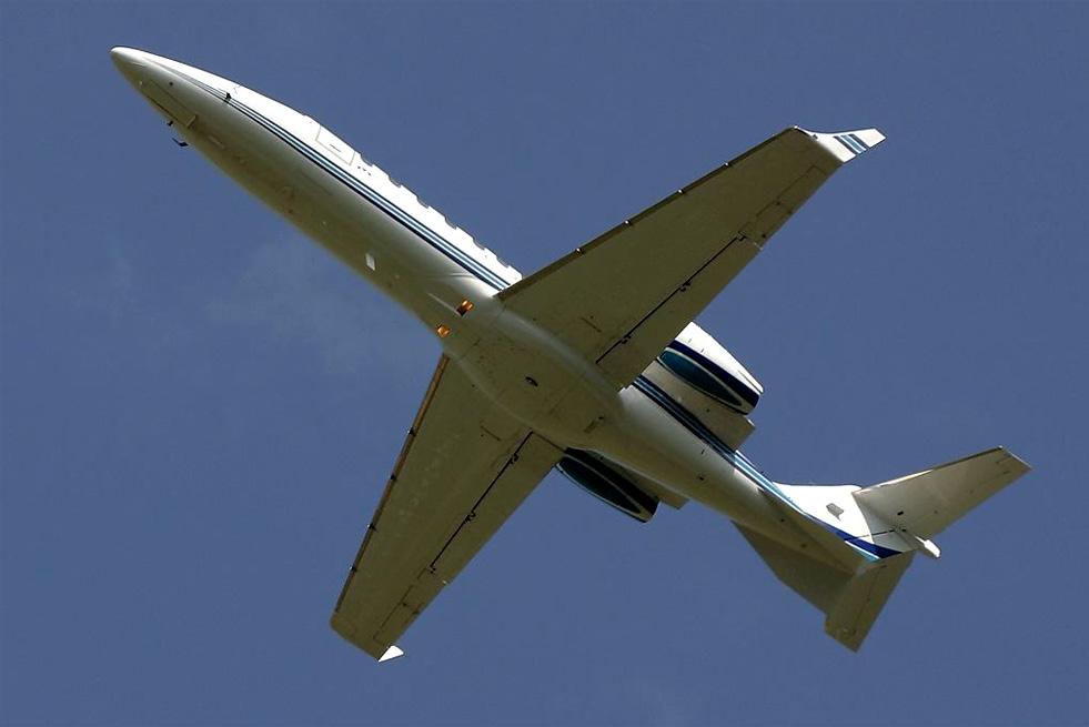 аренда частного самолета Bombardier Learjet 45