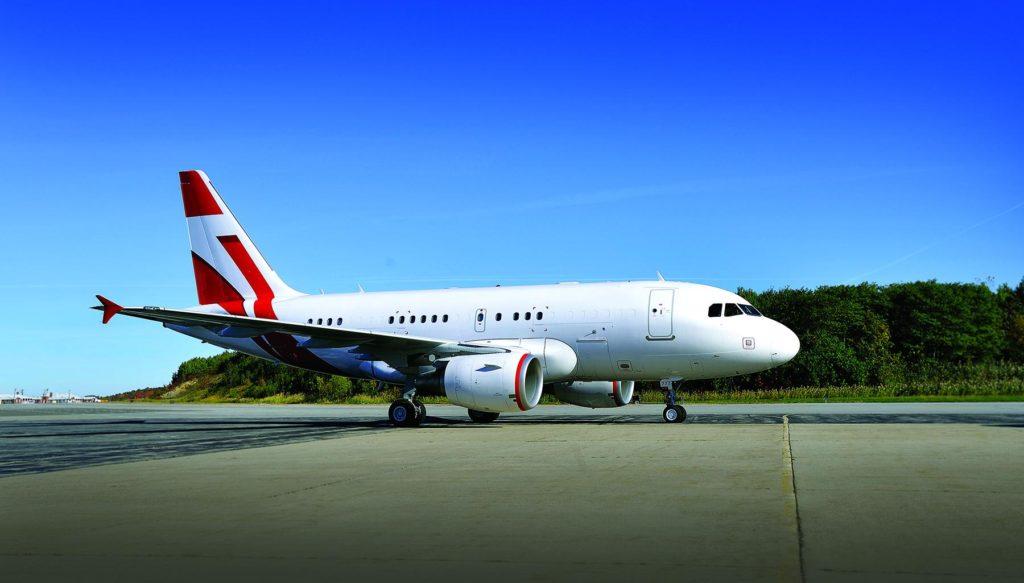 аренда бизнес джета Airbus A318 Elite