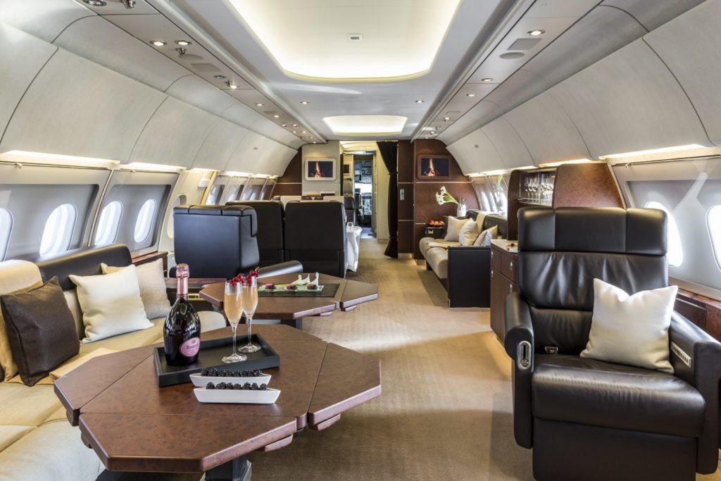арендовать самолет Airbus A318 Elite