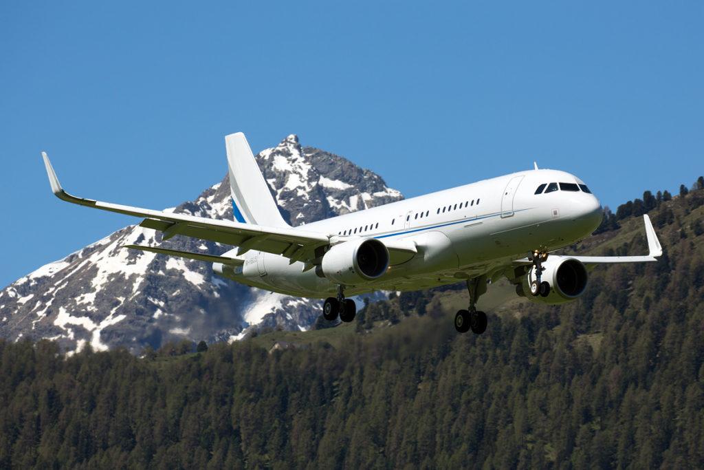 аренда частного самолета Airbus ACJ320