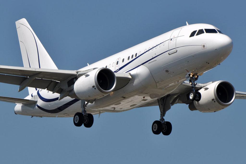 арендовать самолет Airbus ACJ320