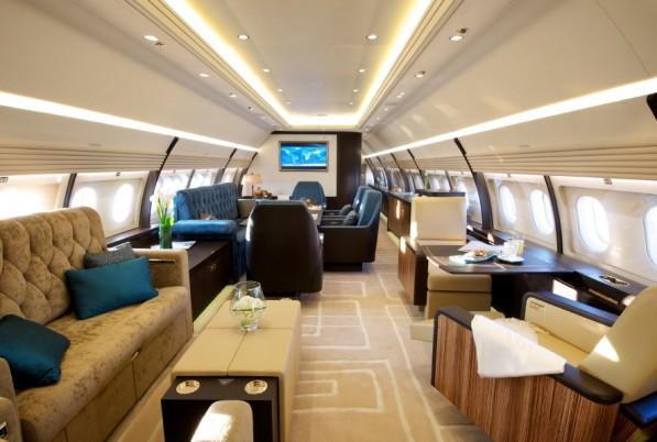 аренда бизнес джета Airbus ACJ320