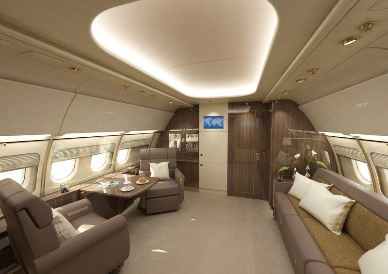 арендовать самолет Airbus ACJ340