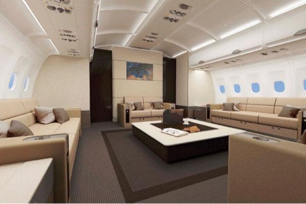 аренда частного самолета Airbus ACJ340