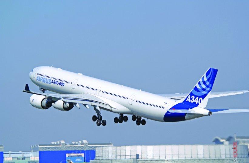 аренда бизнес джета Airbus ACJ340