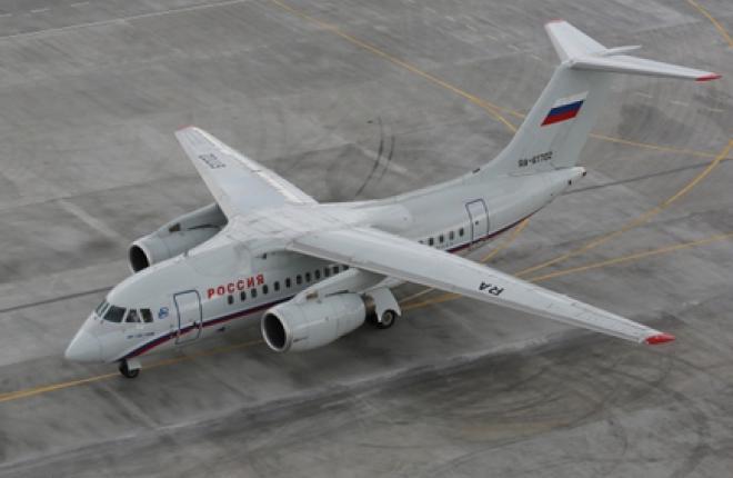 аренда частного самолета Антонов Ан-148