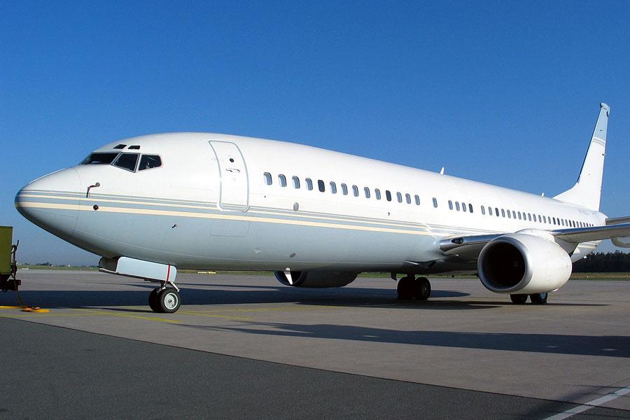 арендовать бизнес джет Boeing Business Jet 2