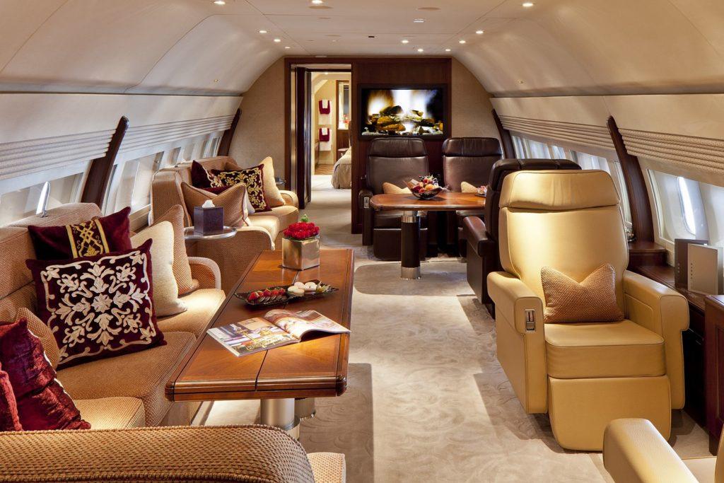 аренда бизнес джета Boeing Business Jet 2