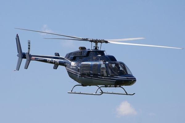 аренда частного вертолета Bell 407