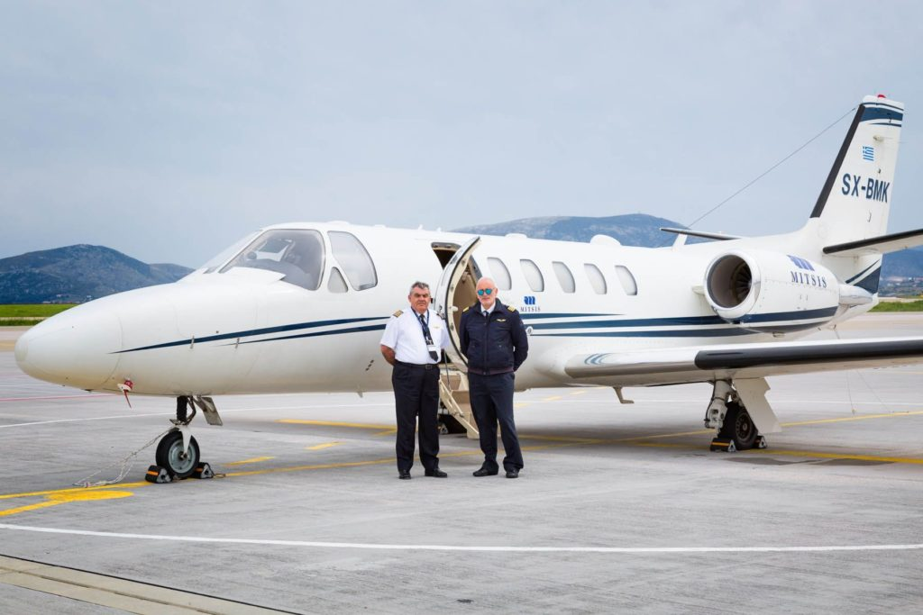 аренда бизнес джета Cessna Citation Bravo