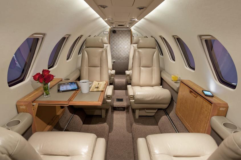 арендовать самолет Cessna Citation Bravo