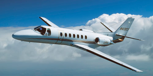 аренда бизнес джета Cessna Citation Ultra