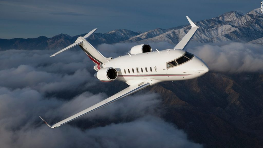 аренда бизнес джета Bombardier Challenger 650