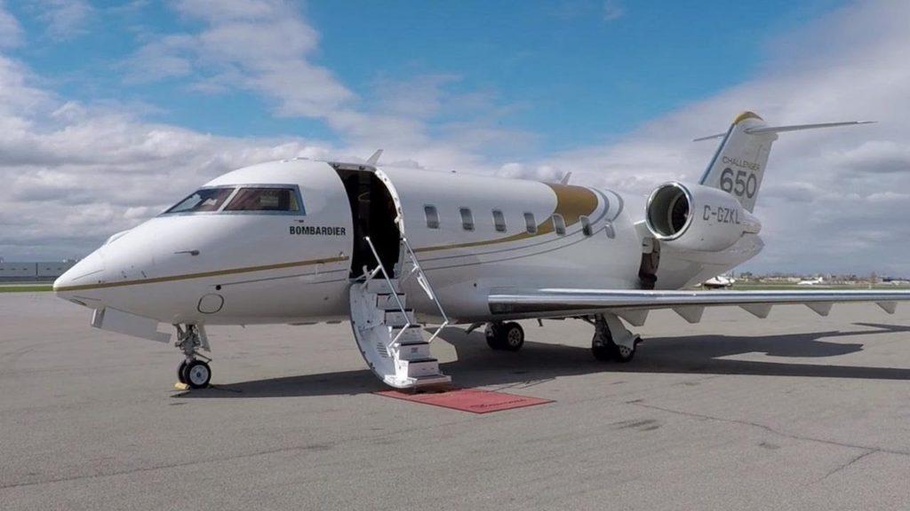 аренда частного самолета Bombardier Challenger 650
