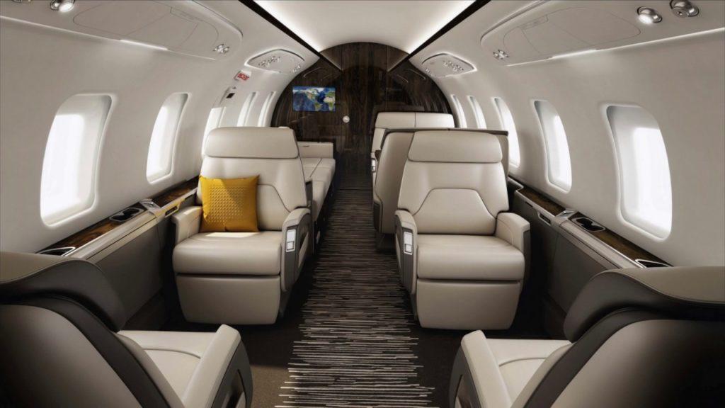 арендовать самолет Bombardier Challenger 650