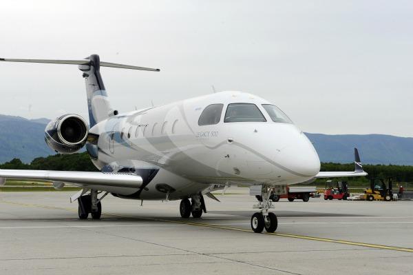 аренда частного самолета Embraer Legacy 500