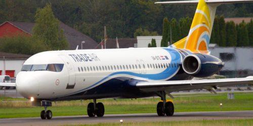 аренда частного самолета Fokker 100