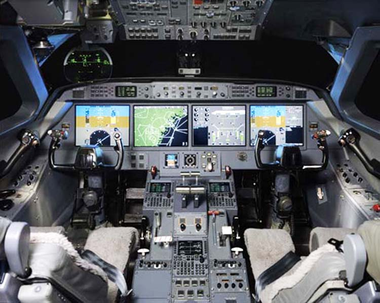 аренда бизнес джета Gulfstream G350