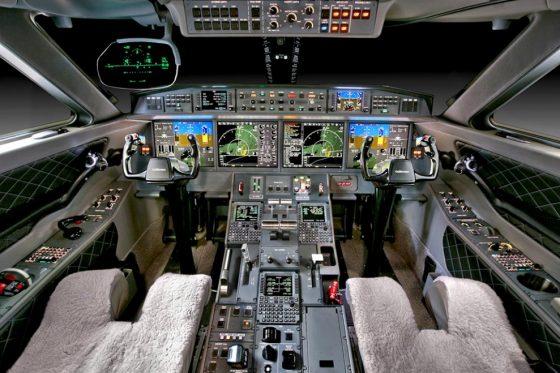 аренда бизнес джета Gulfstream G650