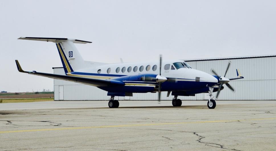 аренда бизнес джета Beechcraft King Air