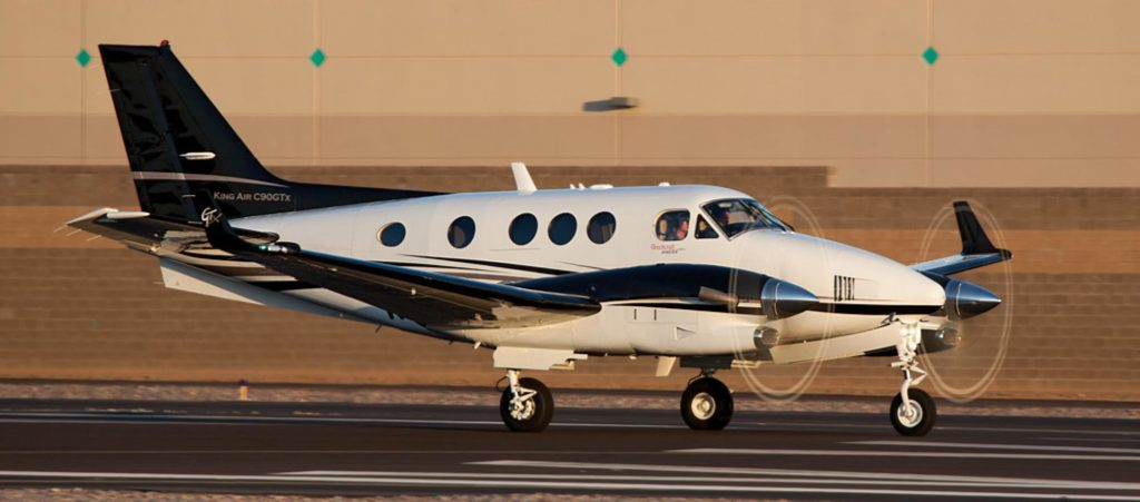 аренда частного самолета Beechcraft King Air