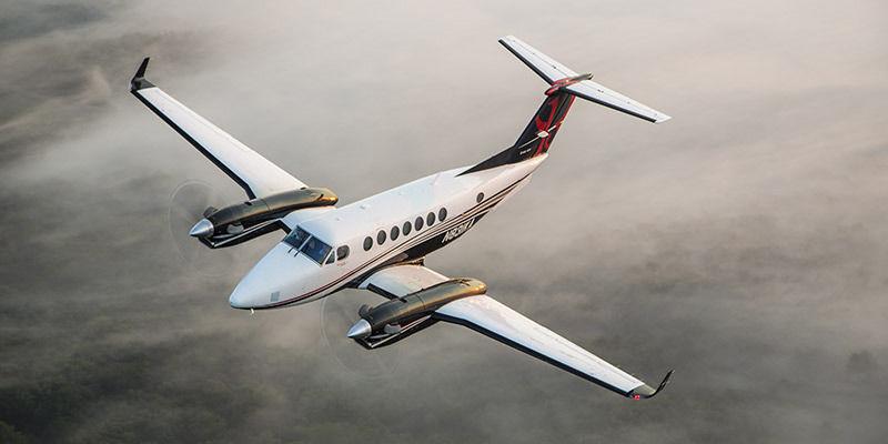 арендовать самолет Beechcraft King Air