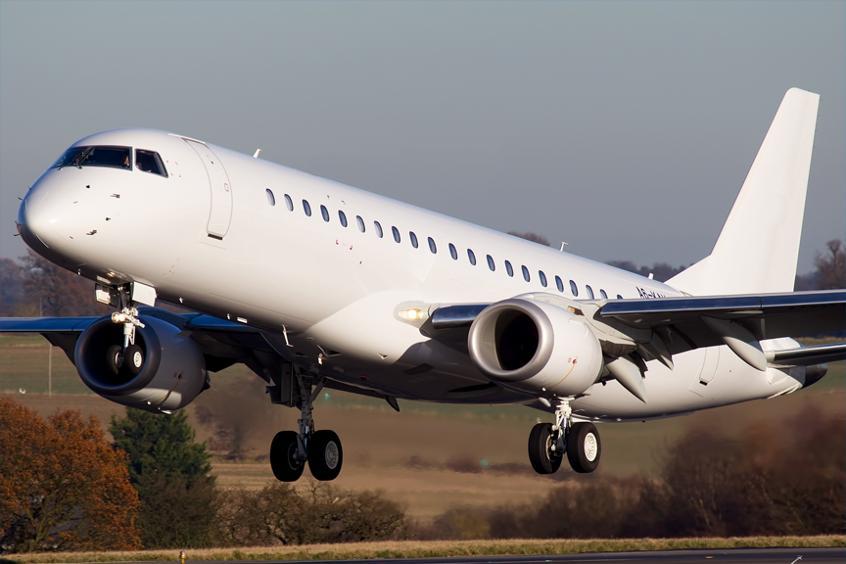аренда бизнес джета Embraer Lineage 1000