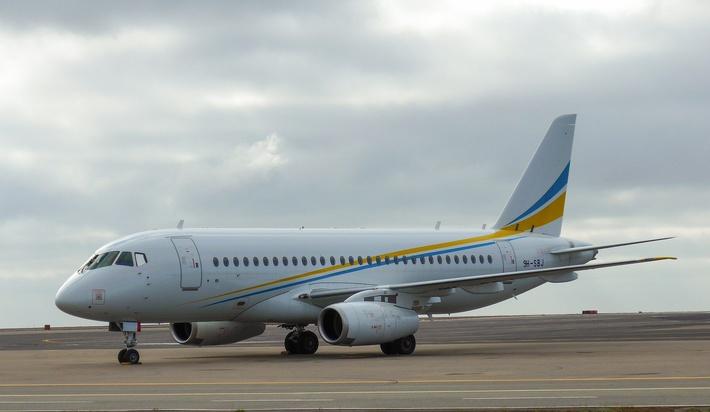 аренда бизнес джета Sukhoi Business Jet