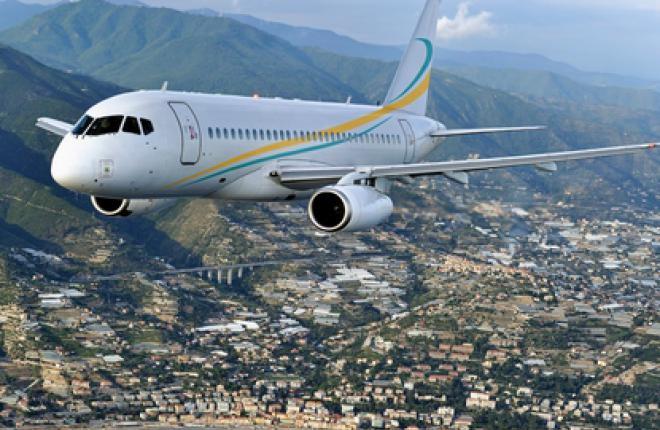 аренда частного самолета Sukhoi Business Jet
