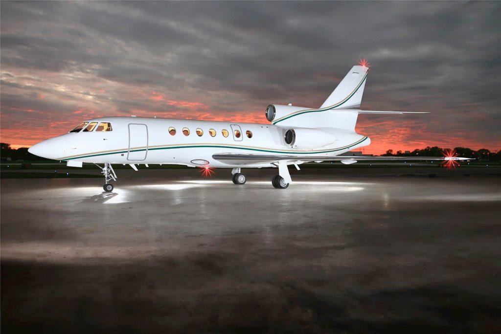 аренда частного самолета Dassault Falcon 50EX