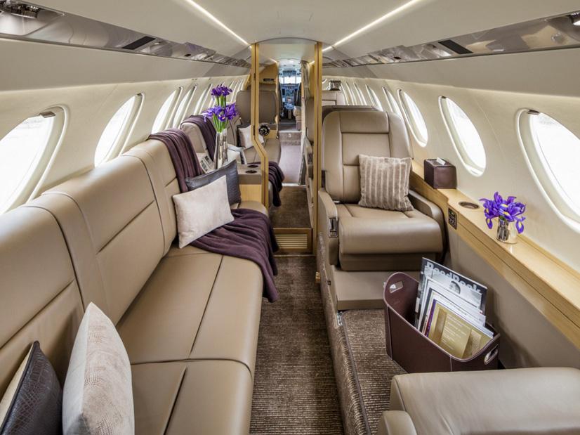 арендовать самолет Dassault Falcon 50EX