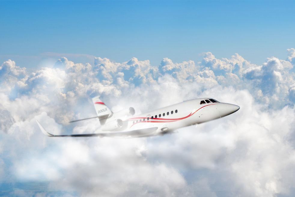 фото Dassault Falcon 900