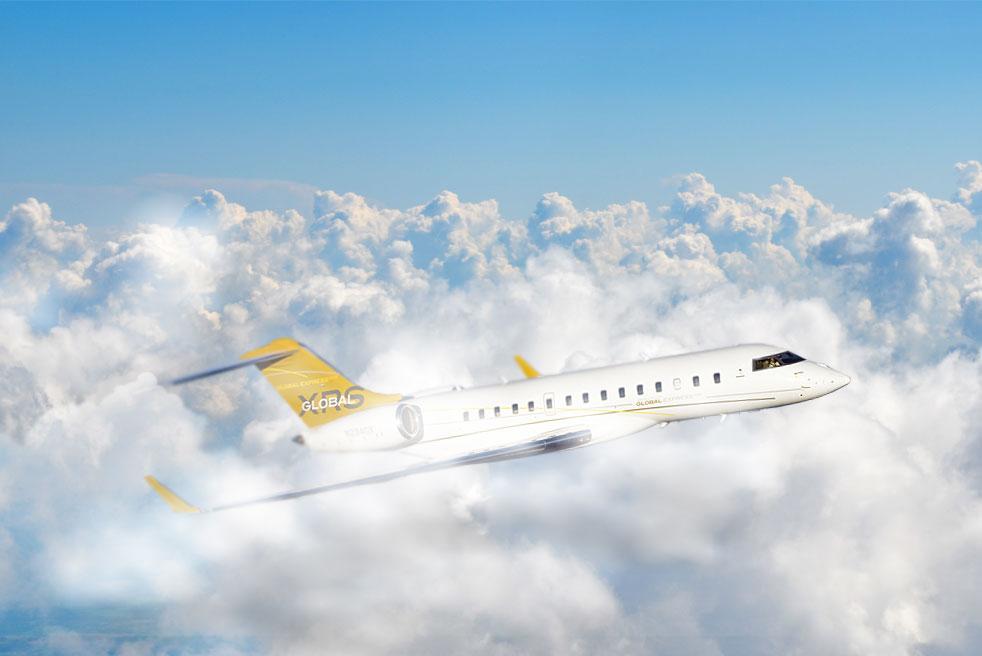 фото Bombardier Global Express XRS