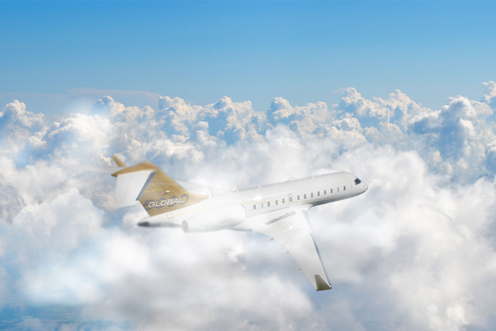 фото Bombardier Global 5000
