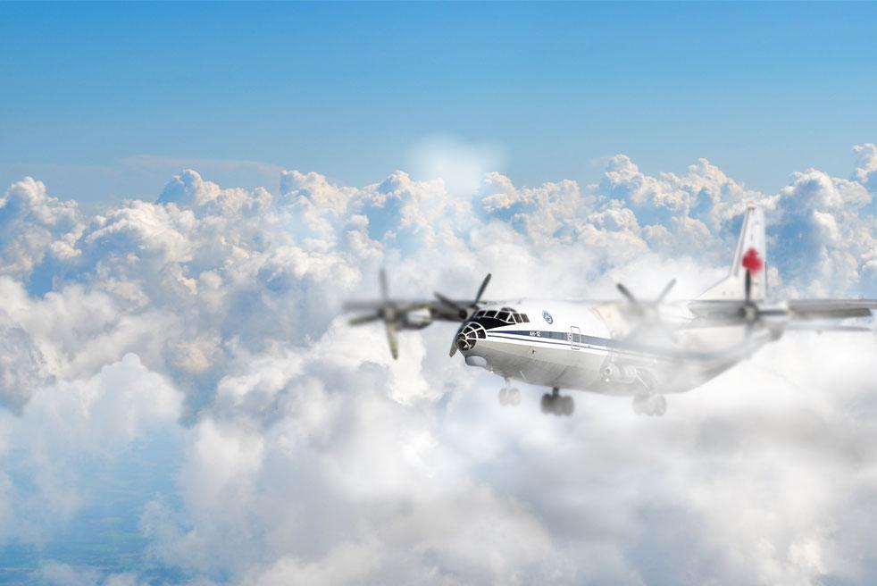 аренда частного самолета Антонов Ан-12