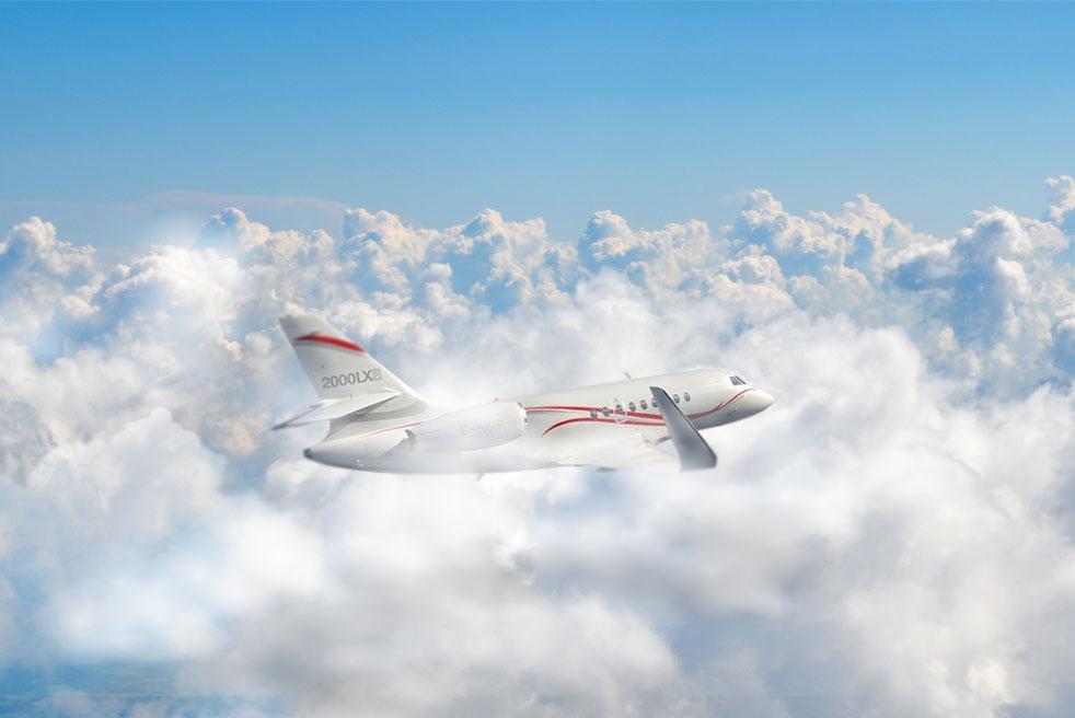 фото Dassault Falcon 2000