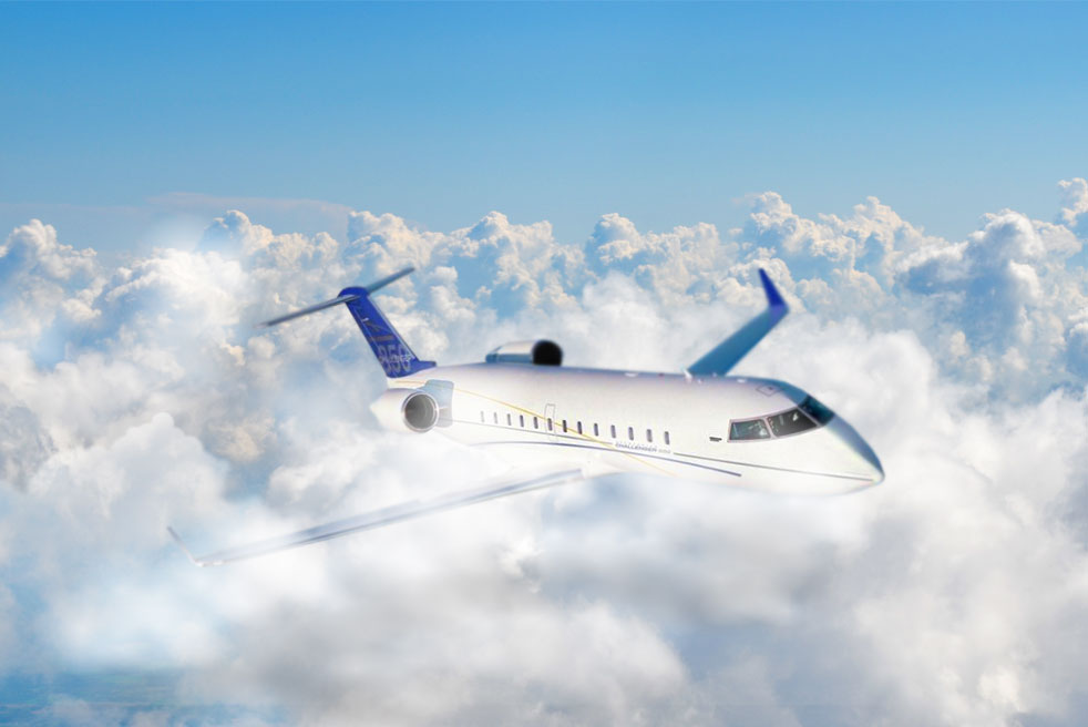 фото Bombardier Challenger 850