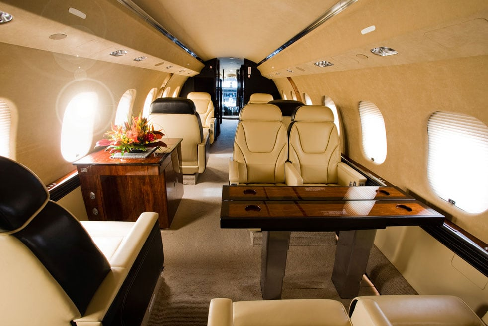 арендовать самолет Bombardier Global Express XRS