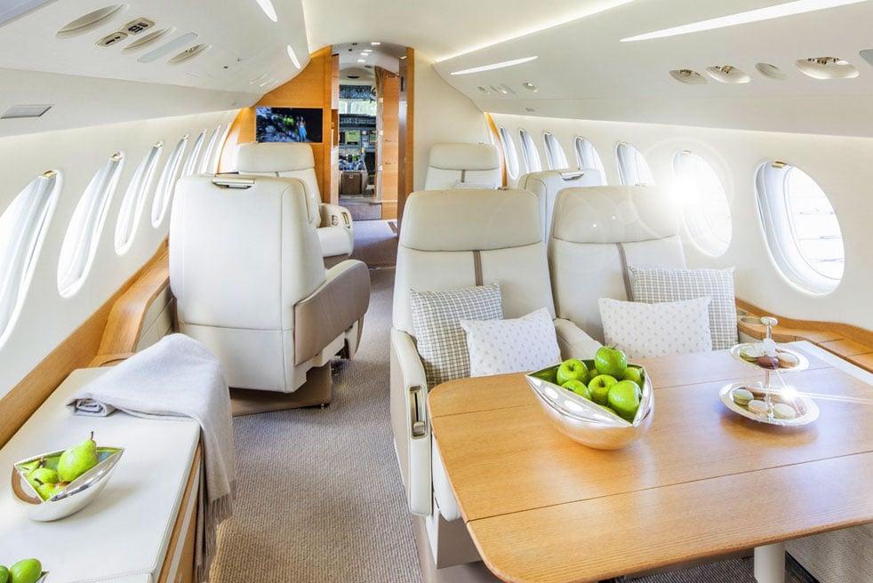 арендовать самолет Dassault Falcon 7x