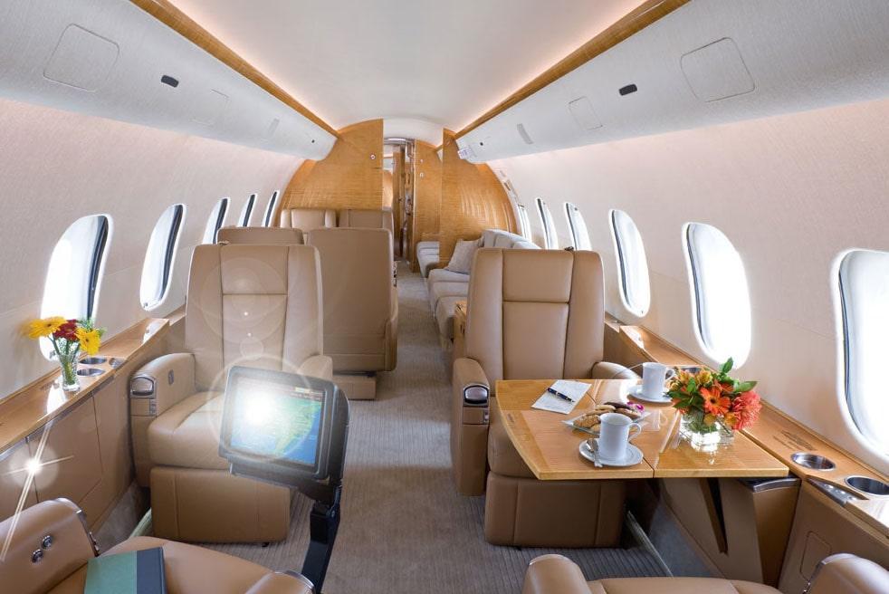 арендовать самолет Bombardier Global 5000