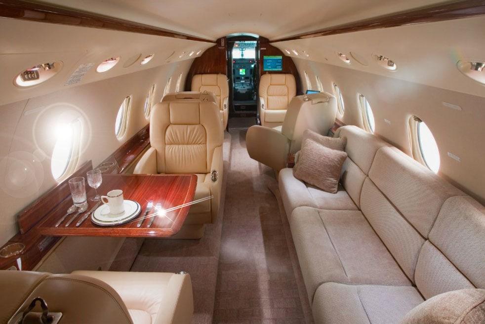арендовать самолет Gulfstream G200