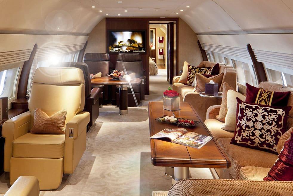 арендовать самолет Boeing Business Jet