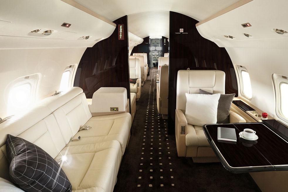 арендовать самолет Bombardier Challenger 850