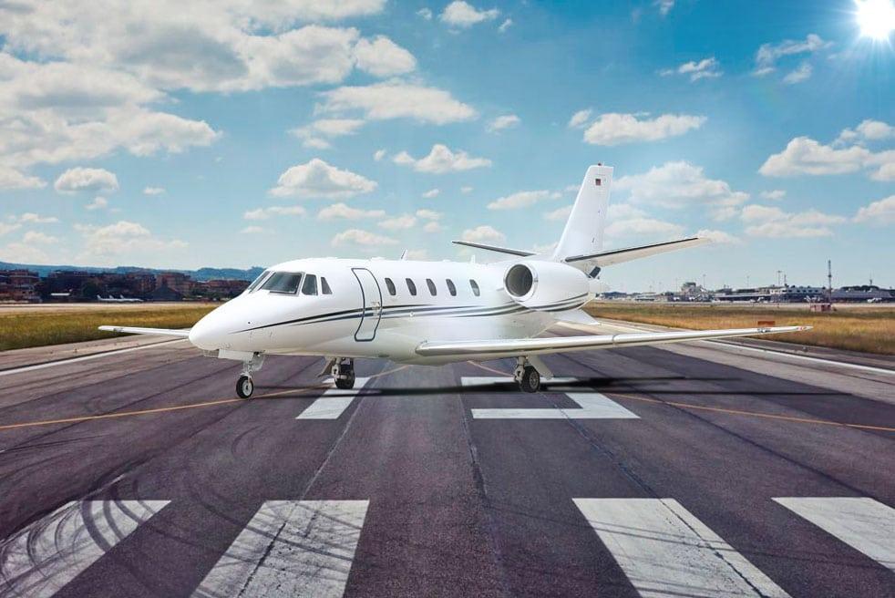 аренда частного самолета Cessna Citation XLS