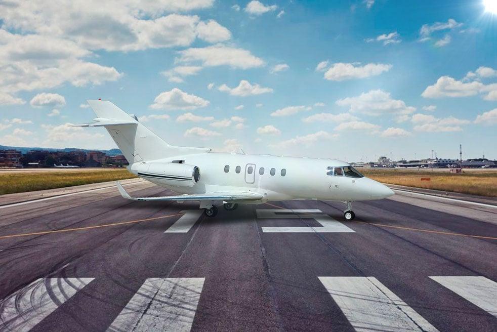 аренда бизнес джета Hawker Beechcraft 850XP