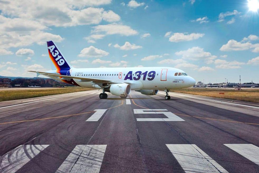 аренда бизнес джета Airbus A319