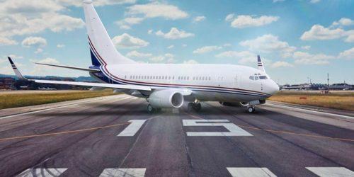 аренда частного самолета Boeing Business Jet