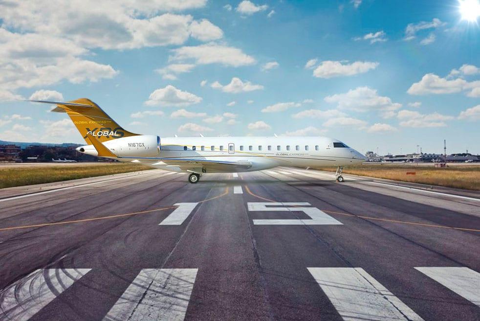 аренда частного самолета Bombardier Global Express XRS
