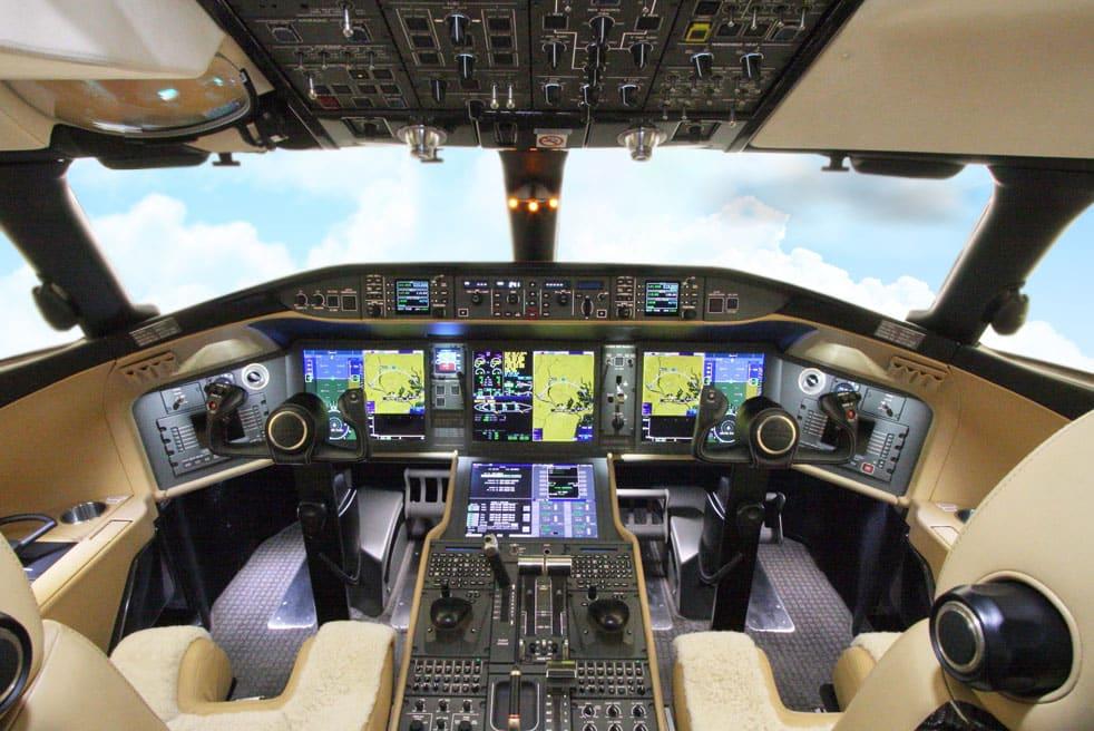 аренда бизнес джета Bombardier Global Express XRS
