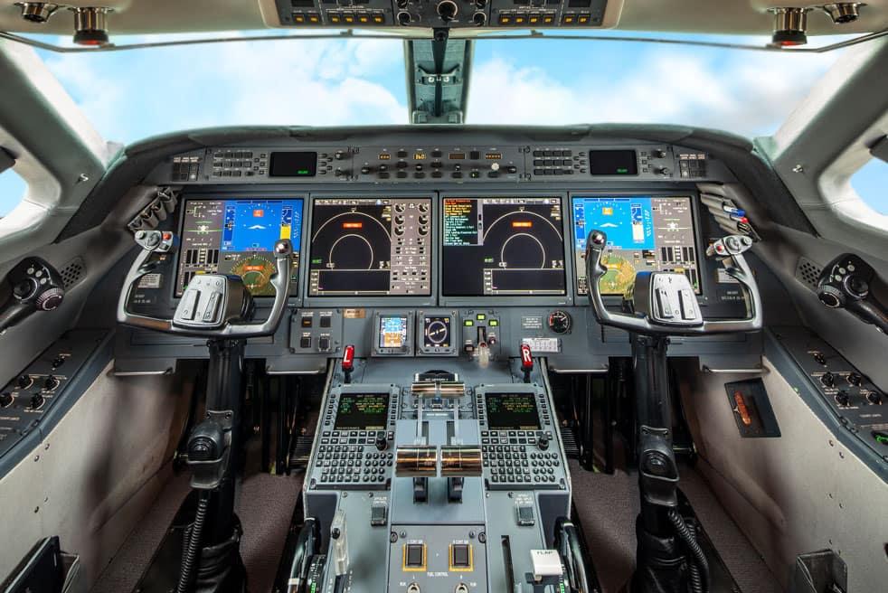 аренда бизнес джета Gulfstream G550